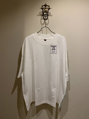 SHINYAKOZUKA 21ss SET-IN WITH FRUIT OF THE LOOM WHITE シンヤコズカ セットイン フルーツオブザルーム
