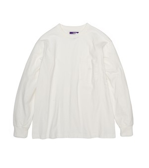 THE NORTH FACE PURPLE LABEL 7oz L/S POCKET T