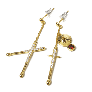 LORD CAMELOT x FUYU DRUMSTICK EARRING