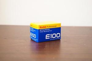 【 35mm カラーポジ 】 Kodak( コダック )エクタクロームE100 36枚撮り