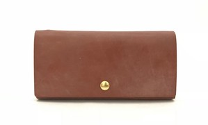RE.ACT Bridle Leather Long Wallet Hazel