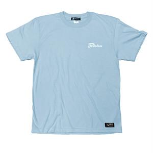 【数量限定カラー】Nible Straight Forward Logo Heavy Weight T-Shirt / Light Blue