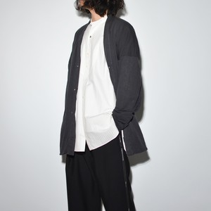 All Matching Cardigan 〈Charcoal〉