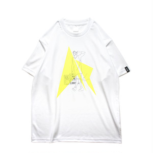 HipHop Philly S/S PL <White×Black×F.Yellow>