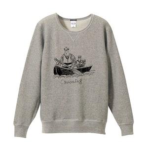 【SALE】カヌーのトレーナー (S) ヘザーグレー