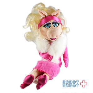 ミス・ピギー ぬいぐるみ人形 ピンクドレス 48センチ