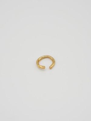 raw big hoop earcuff gold(再入荷)