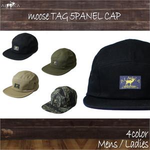 Moose Tag 5panel Cap as-83