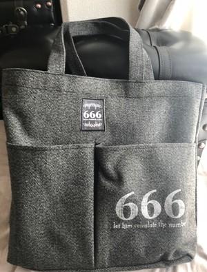 ◆evilive◆666ポケットトートバッグバッグ