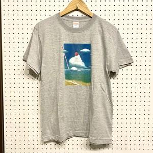 COUNTDOWN T☆B  「クリームソーダを飲み干したい」Tシャツ(ミックスグレー)Mサイズ