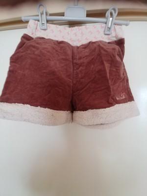 used、HusHusH、140cm、冬素材ショートパンツ、女の子用【★2】古着