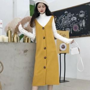 【set】[単品注文]ファッション人気Tシャツ+ワンピースセットアップ23505871