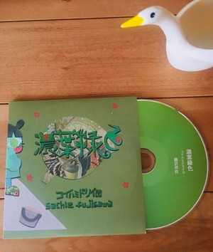 CD 濃葉緑色 アコーディオン