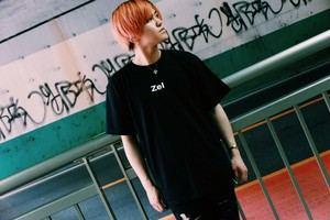 Zel logo T-Shirt BLACK 【TS-002】 黒 半袖