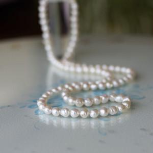 【お値打ち】大珠バロック真珠の8㎜-9㎜ロングネックレス 84cm【あこや真珠】ND-1608
