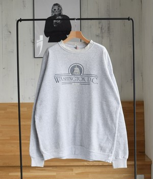 VINTAGE 90s SWEAT SHIRT D.C. -MADE in USA-