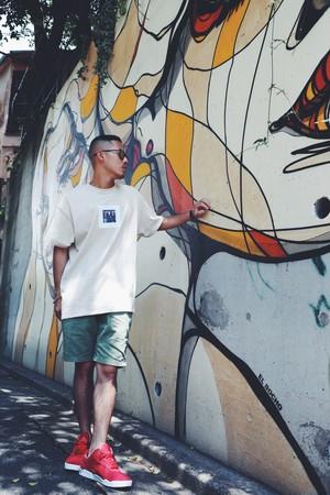 F.F.F. -advisory- T-shirts[BEIGE]