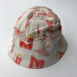 ミラービール 総柄ハット Miller BEER REPLICA BUCKET HAT 58-59cm