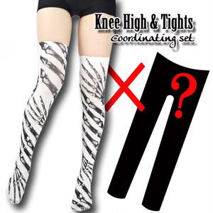Set sales★<骨/Bones>Selectable knee high socks & Tights!