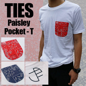 Paisley Pocket - T