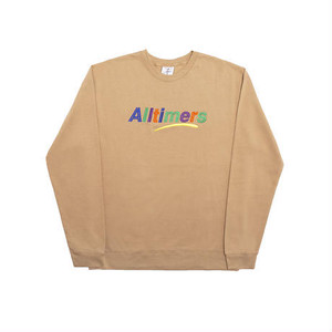 ALLTIMERS ESTATE EMBROIDERED CREW SAND L