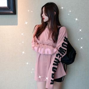 【トップス】新作ファッションアルファベットルーズTシャツ