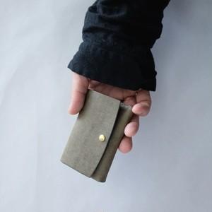 mini wallet - gri - プエブロ
