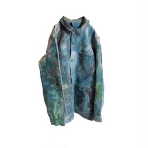 Hand Dyed French Work Jacket