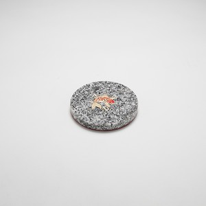 石のコースター【鯉】
