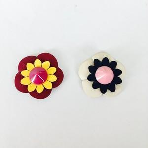 花ワッペン(小)✴︎2個セット