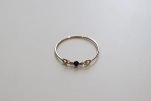 hover -Black spinel- / Ring