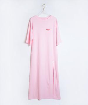 BabypinkTOKYO Long Dress Pink×Red