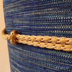 正絹 ピーナツ色の変わり帯締め