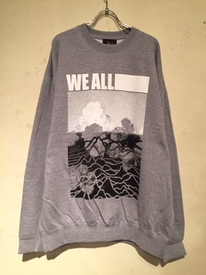 "CREWNECK BIG SWEAT ""Ver.3"" (HEATHER GRAY)"