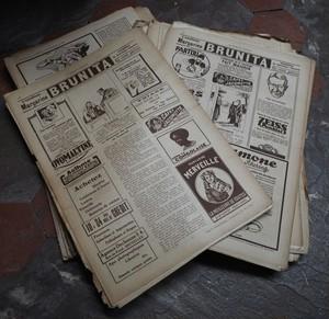 france 1928年 journal 2部