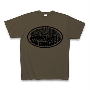 【受注生産】鶴ヶ屋ロゴTシャツ(オリーブ)