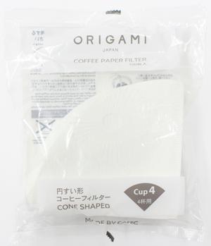 ORIGAMI コーヒーペーパーフィルター Mサイズ用