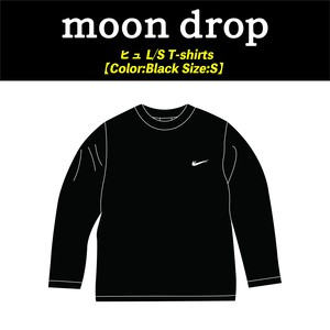 【moon drop】ヒュ L/S T-shirts