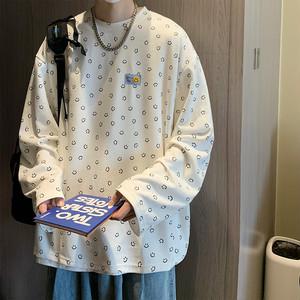スマイルプリントTシャツ