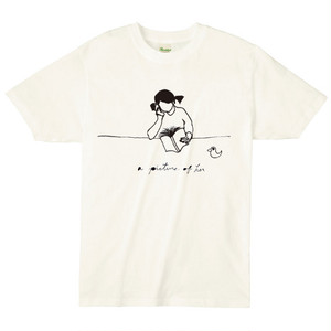 BOOK GIRL T-SHIRT