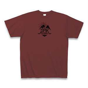 DMK GLOBAL Tシャツ(バーガンディ)