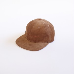 FTMTS Corduroy 6 Panel Cap (Brown)