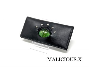 reptiles eye wallet / green