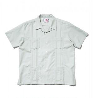 SON OF THE CHEESE サノバチーズ CUBA Shirt(GREEN)SC1910-SH17