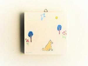 ※再販可能 アートパネル 「明るい月に照らされて」