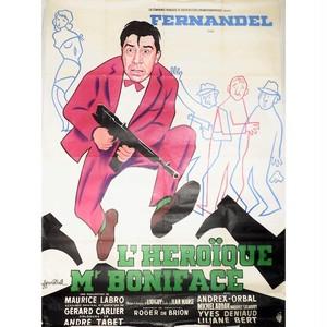 1940's フランス映画 ビンテージポスター⑨ NOSTALGIA flea market