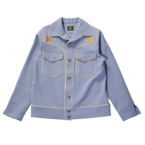 NEEDLES Piping Cowboy Leisure Jacket Blue