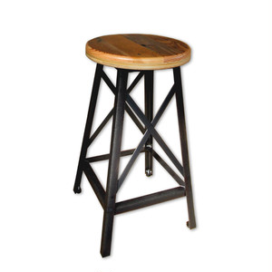 受注生産品 Reclaimed  Stool 24""