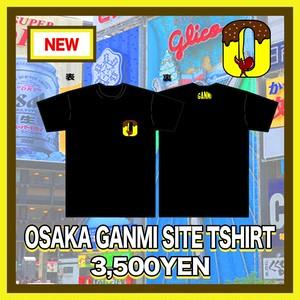 OSAKA GANMI SITE TSHIRT【Sサイズ売り切れ/再入荷なし】