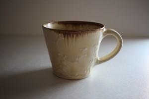 豊田雅代|マグカップ クリーム色